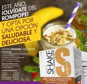 OMNILIFE SHAKE SUPREME Es una nutritiva malteada con suculento sabor Cookies & Cream,